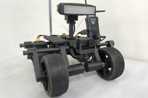 狭隘部走行ロボット・CUAV5搭載型小型ドローン