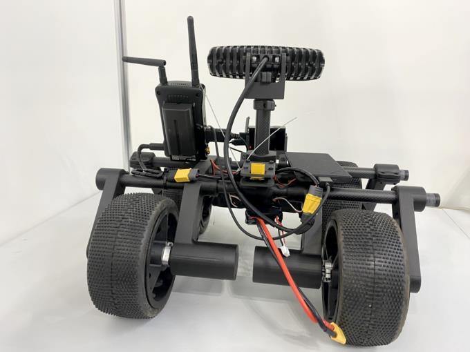 狭隘部走行ロボット narrow place robot 背面