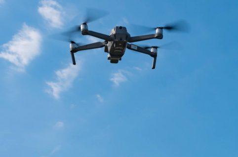 3次元計測ドローンイメージ 3D UAV